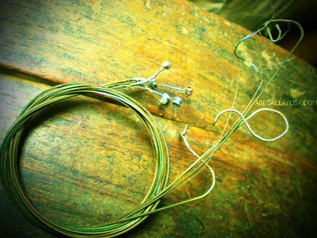 old strings.