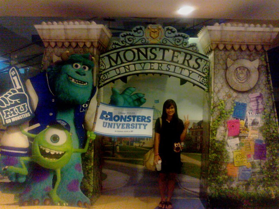 At Monsters University :)