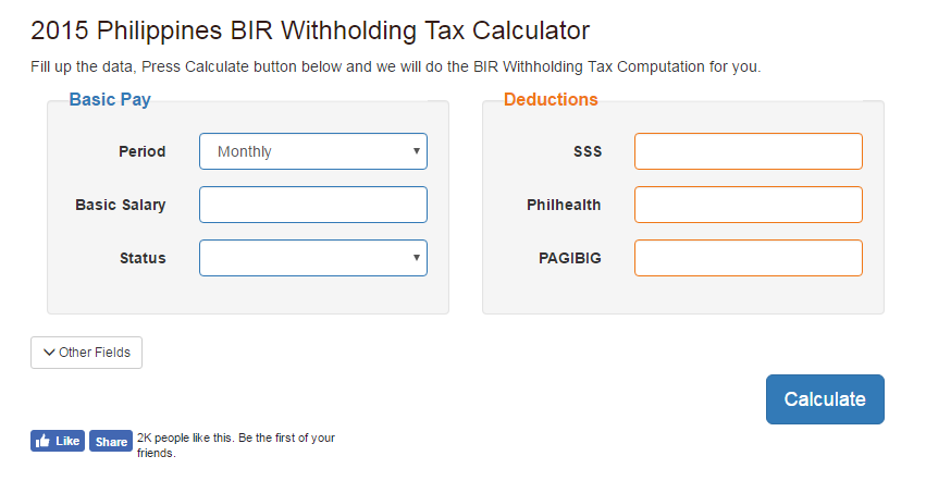 bir tax calculator